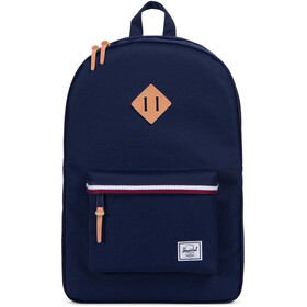 Herschel Heritage Backpack Unisex, peacoat/windsor wine/white